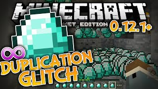 UNLIMITED DIAMONDS!!! - MCPE Universal Duplication Glitch - Minecraft PE (Pocket Edition)