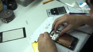 Hướng dẫn thay mặt kính cảm ứng , màn hình Sony Xperia M2