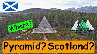 Pyramid In Scotland??? Secret Scottish Pyramid - YouTube