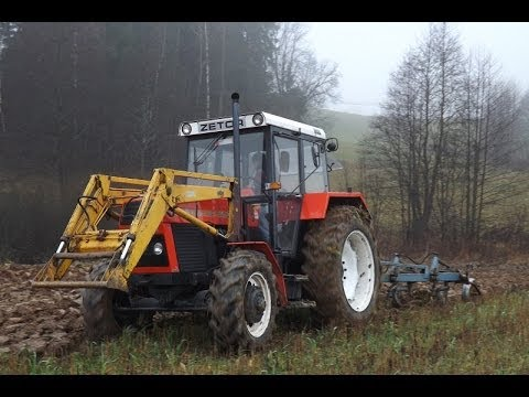 Jesienna Orka 2013 - Zetor ZTS 9245 i Overum 4*40 ( Dźwięk silnika ) - Orba(Originální zvuk)