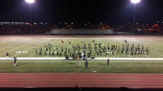 "Monterey Trail Marching Band ""Urban"" 2017 Franklin Invitational Band Review 10/14/17"