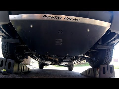 Primitive Racing Skid Plate Install - 2015 Forester 2 5i