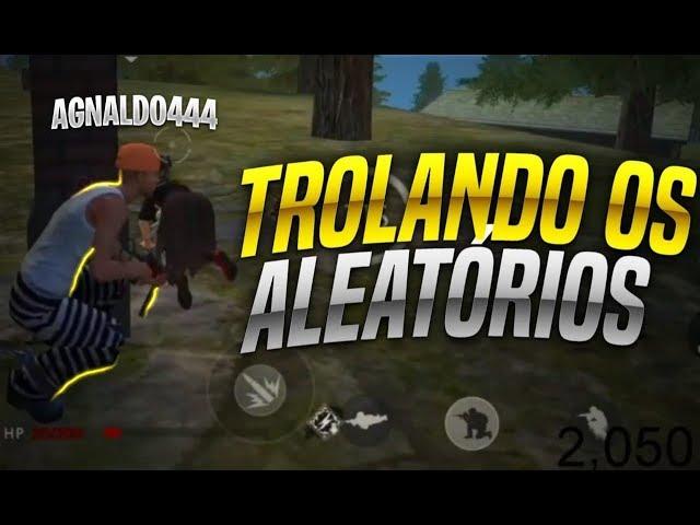 AO VIVO FREE FIRE AGNALDO444 O MAIOR TROLADOR DO FREE FIRE!