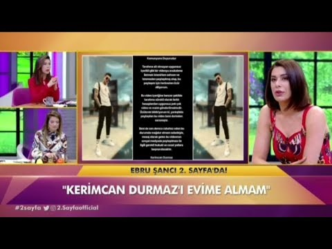 Ebru Şancı'dan Kerimcan Durmaz'a şok sözler