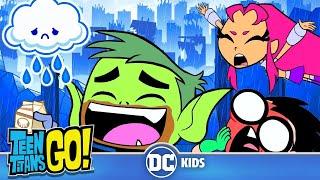 Teen Titans Go! En Español | Actividades de un Día Lluvioso | DC Kids