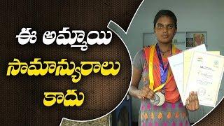 Karimnagar Girl student Invents Eco friendly Fungal Preservation Paper | ABN Telugu