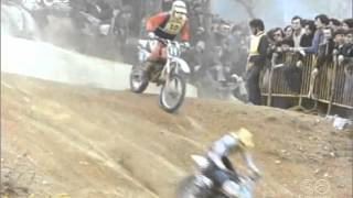 Spanish GP Motocross 1979. Hakan Carlqvist won. April, 8th , 1979