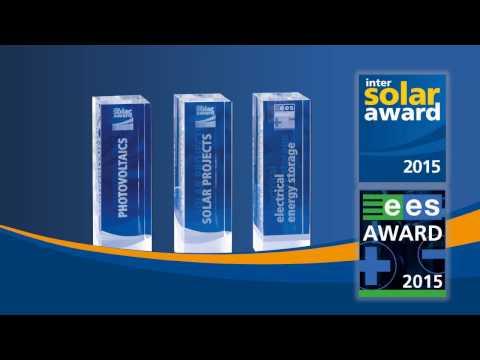 "LG Deutschland /  Intersolar AWARD 2015 Winner ""Solar Module MonoX NeON"""
