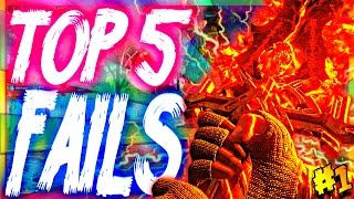 Top 5 Bo3 Zombie Fails | Week 1 (Call of Duty Black Ops 3 Zombies)