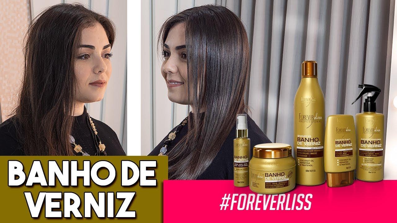 Banho De Verniz Forever Liss Passo A Passo Completo Youtube