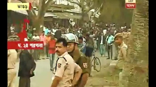 Again tension erupts at Bhangar on Republic Day