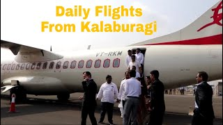 Daily Flights From Kalaburagi To Bengaluru