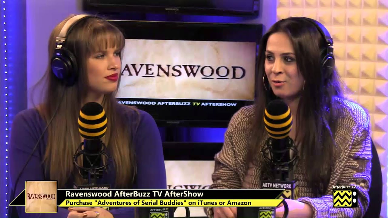 """Download Ravenswood After Show Season 1 Episode 5 """"Scared to Death""""   AfterBuzz TV"""