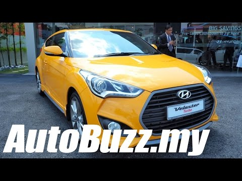 2015 Hyundai Veloster 1.6L Turbo launch in Malaysia AutoBuzz.my