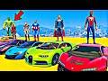 Superhero car game online gt racing | Superhero car racing hulk stunt limits | Superhero game | Hulk