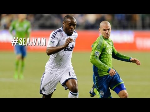 GOAL:  Reo-Coker beats Gspurning after a long run | Seattle Sounders vs. Vancouver Whitecaps