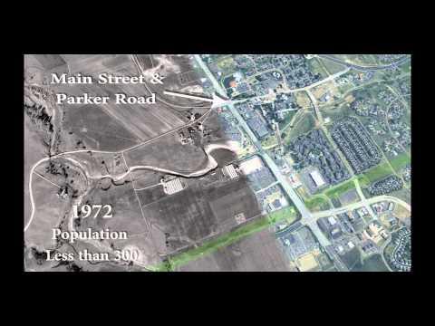 Historic View of Parker, Colorado
