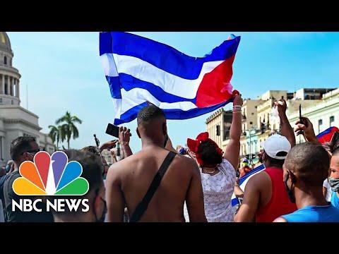 Communist Cuba's Anti-Government Protests