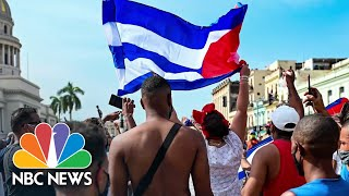 Inside The Anti-Government Protests in Cuba