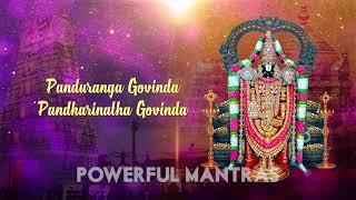 Srinivasa Govinda Sri Venkatesa Govinda Song with Lyrics   Venkateswara Swamy Devotional Songs