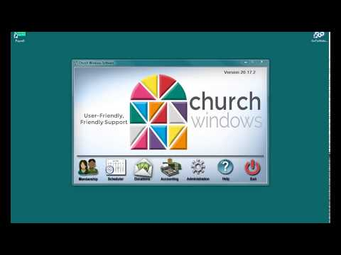 Church Windows Software v20 - Accounting: Reports for financial meetings.