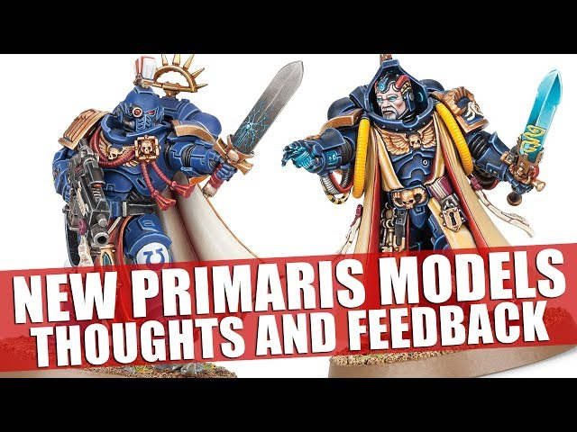 New Primaris Models Thoughts And Feedback Youtube