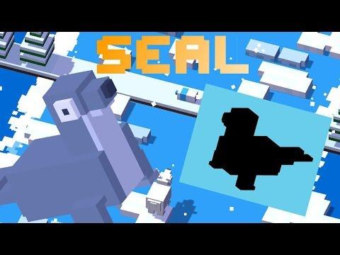 CROSSY ROAD SEAL Unlock | New Secret Characters | Arctic Update August 2016