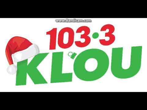 103.3 Klou Christmas Music 2020 103.3 KLOU Station ID December 9, 2017 6:01pm   YouTube