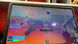 Playing roblox on Xbox mining simulator