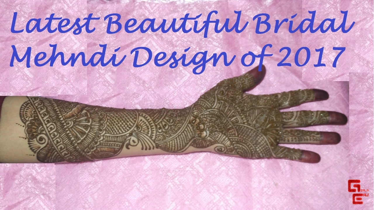 mehndi designs for wedding latest for girls