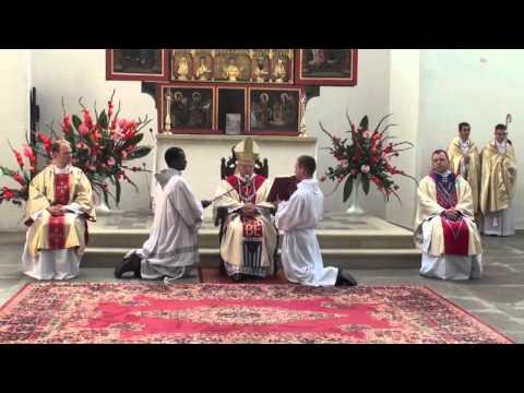 Gdańsk: Święcenia diakonatu u franciszkanów 2010 (1/2)