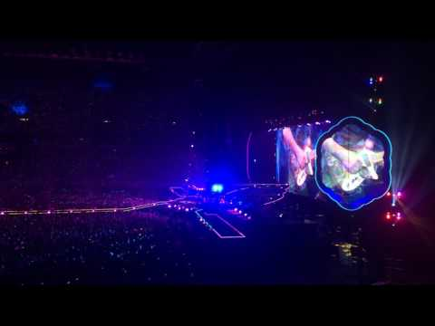 Coldplay Amsterdam 2016 last song  Up & Up full song and fireworks