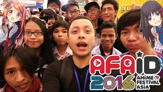 ACARANYA PENCINTA ANIME !! - AFAID 2016 Jakarta Vlogs