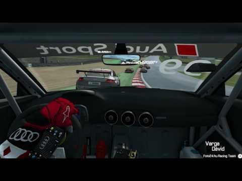 RaceRoom Audi TT Cup - Brands Hatch Indy Race 1 - VSR.hu /VRS Team/