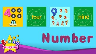 Kids Vocabulary - Number 123 - Learn English Vocabulary for Kids - English Educational Video