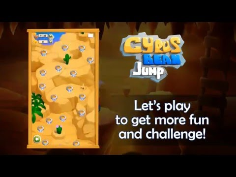 Cyrus Bean Jump - Offical Trailer - Puzzle and Adventure Game