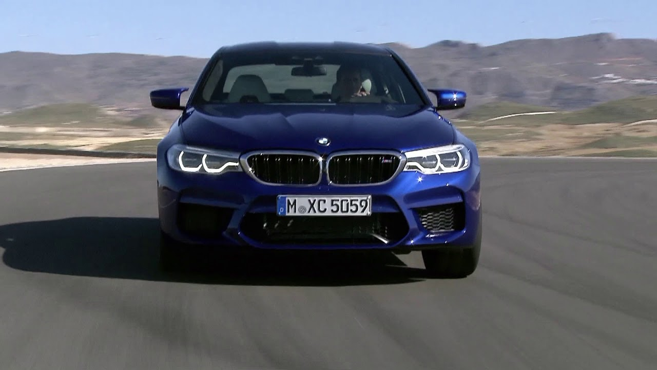 2018 Bmw M5 F90 On Race Track Youtube