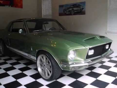 Auction results and data for 1968 Shelby Mustang GT 500 (GT500, GT ...