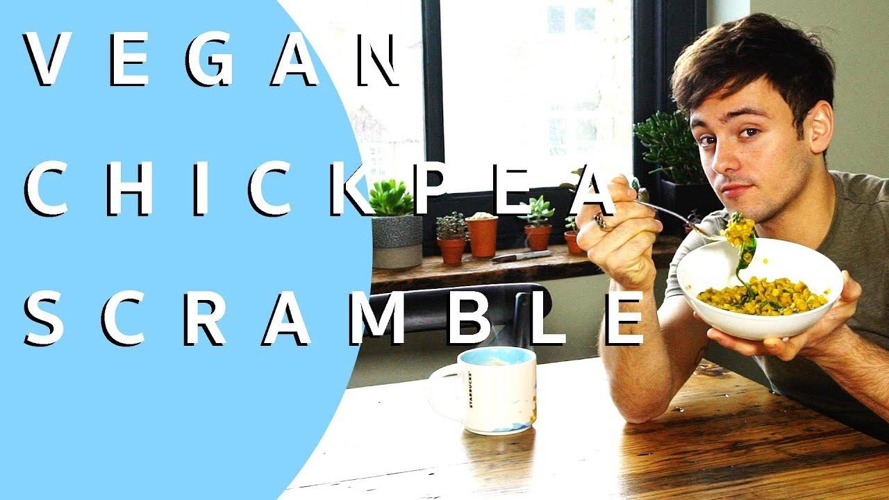 Turmeric Chickpea Breakfast Scramble | VEGAN | Tom Daley – VeganStuffing