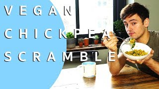 Turmeric Chickpea Breakfast Scramble | VEGAN | Tom Daley