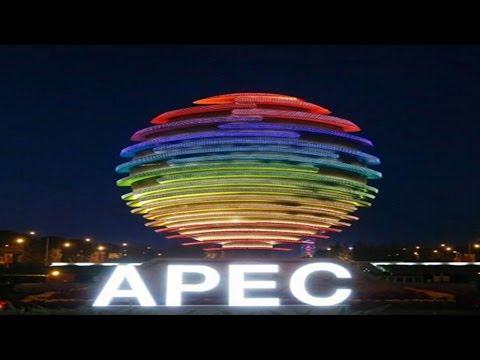 Watch Live: Beijing Fireworks For APEC 2014 盛大烟火表演