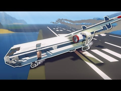 CRAZY CARGO JET DELIVERY! - Stormworks Multiplayer Gameplay