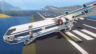 CRAZY CARGO JET DELIVERY! - Stormworks Multiplayer Gameplay - Plane & Jet Update