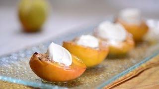 Duraznos Asados - Baked Peaches - Recetas De Postres Fáciles