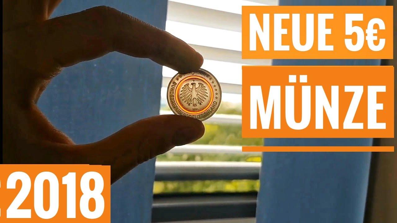 So Sieht Die Neue 5 Euro Münze Aus Subtropische Zone Youtube