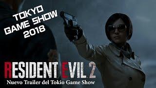 Resident Evil 2 Remake Trailer del Tokio Game Show 2018