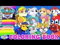 Paw Patrol Coloring Book All Pups Chase Skye Compilation Episode Surprise Egg and Toy Collector SETC