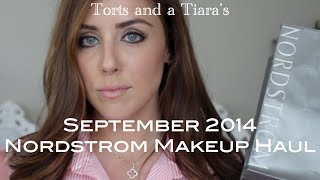 September 2014 Nordstrom Makeup Haul Thumbnail