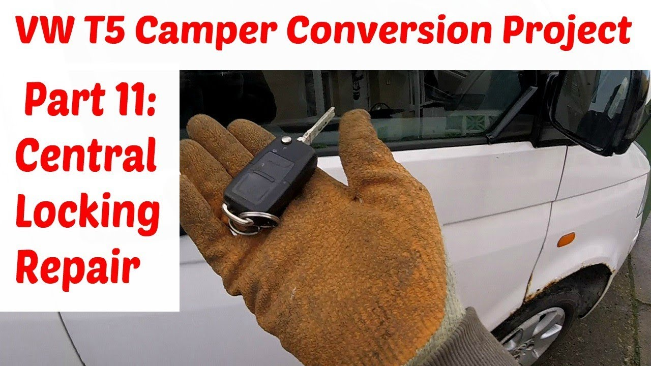 central locking motor wiring diagram vw t5 camper conversion project part 11 fix vw t5 central locking  fix vw t5 central locking