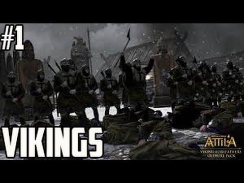 Total War Attila Gameplay Fr I Campagne Vikings #1 I Sans pitié ..